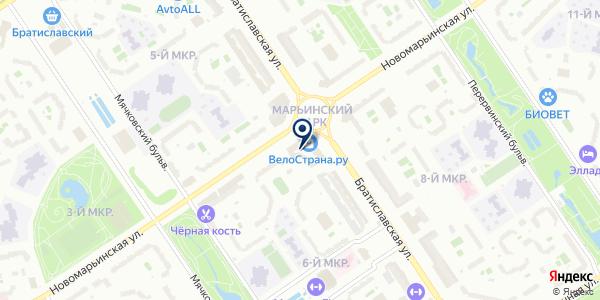 Додо Пицца на карте Москве