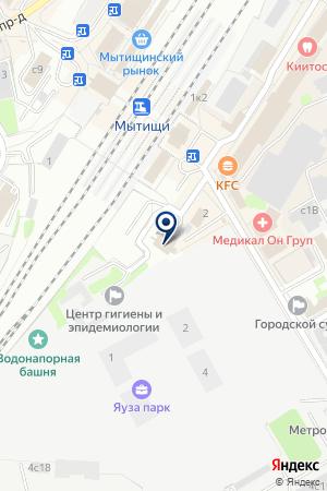 МАГАЗИН ОДЕЖДЫ СПЕЦОДЕЖДА-МЫТИЩИ на карте Мытищ