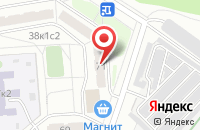 Схема проезда до компании Звуковая Лаборатория в Москве