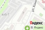 Схема проезда до компании Столичный Свет в Москве