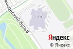 Схема проезда до компании Средняя общеобразовательная школа №1910 с дошкольным отделением в Москве