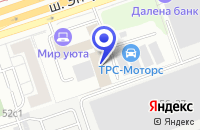 Схема проезда до компании СЕРВИСНЫЙ ЦЕНТР АВТОТЕХГАЛАНТ в Москве
