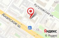 Схема проезда до компании Нипиотстром в Новороссийске