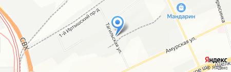 Инмашком на карте Москвы