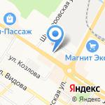 Столовая на карте Новороссийска