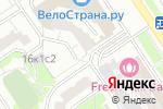 Схема проезда до компании Мокша-Мебель в Москве
