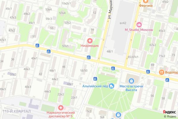 Ремонт телевизоров Улица Юных Ленинцев на яндекс карте