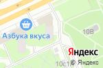 Схема проезда до компании Шеврон в Москве