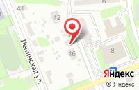Схема проезда до компании Чайкофский в Домодедово