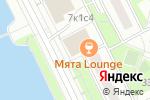 Схема проезда до компании Алло Пицца в Москве