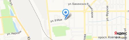 Экотекстиль на карте Донецка