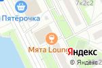 Схема проезда до компании МосТорг в Москве