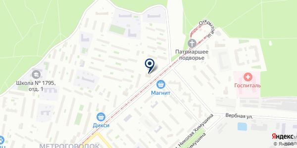 Займ-Онлайн на карте Москве