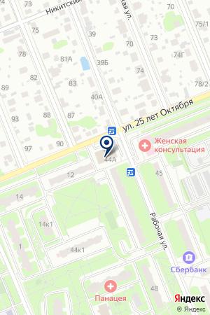 СТРОИТЕЛЬНО-ИНВЕСТИЦИОННАЯ КОМПАНИЯ ДРУЖБА на карте Домодедово