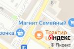 Схема проезда до компании Европлан, ПАО в Новороссийске