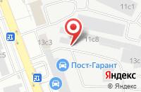 Схема проезда до компании Азотэкон-Плюс в Москве