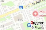Схема проезда до компании Салон штор в Домодедово