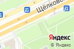 Схема проезда до компании Сиреневый сад в Москве