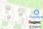 Схема проезда до компании Diamond Ice в Москве
