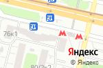 Схема проезда до компании Золотая Корона в Москве