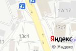 Схема проезда до компании Funny—Gas в Москве