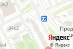 Схема проезда до компании Спасатель в Москве