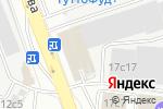 Схема проезда до компании Бижур в Москве