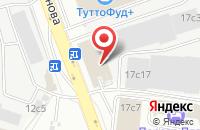 Схема проезда до компании Дизайн-Проект в Москве