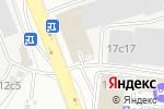 Схема проезда до компании Гнездо в Москве