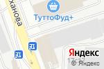 Схема проезда до компании DEKOR в Москве