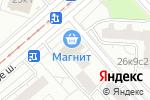 Схема проезда до компании Триада сервис в Москве