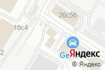 Схема проезда до компании ЭРБИ ГРУПП в Москве