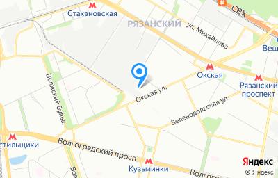 Местоположение на карте пункта техосмотра по адресу г Москва, проезд 2-й Вязовский, д 16 стр 13