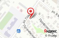 Схема проезда до компании Наружка в Новороссийске