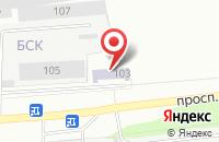 Схема проезда до компании Ск-Проммонтаж в Старом Осколе