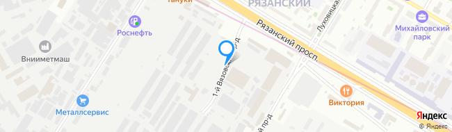 проезд Вязовский 1-й