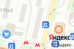 Схема проезда до компании 585 GOLD в Москве