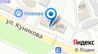 Компания Клевер на карте