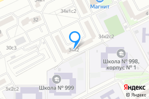 Сдается однокомнатная квартира в Москве ул. Борисовские Пруды, 34к2