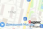 Схема проезда до компании Благо в Москве