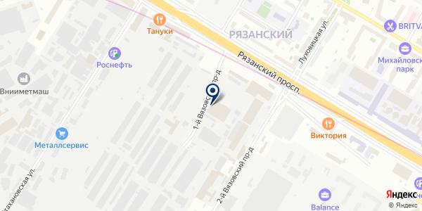 НеРеш на карте Москве