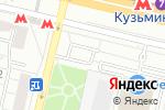 Схема проезда до компании ЛемонПринт в Москве