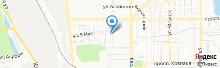 Воскресная школа на карте Донецка