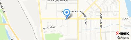 Донецкая общеобразовательная школа I-III ступеней №72 на карте Донецка