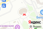 Схема проезда до компании Станция Алма-Атинская в Москве