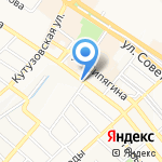 Церковная лавка на карте Новороссийска