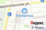 Схема проезда до компании Хайв! в Москве