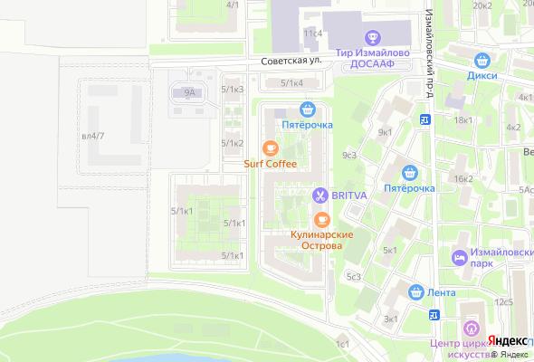 купить квартиру в ЖК Измайловский 11
