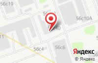 Схема проезда до компании Кастехстрой в Москве