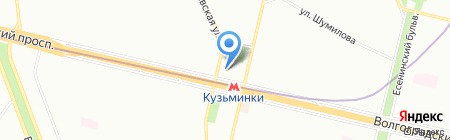 Enter на карте Москвы
